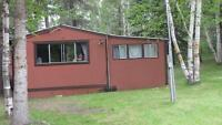 Cabin for sale . South ditch lake ( co op)
