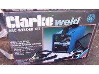 Clarke welding machines