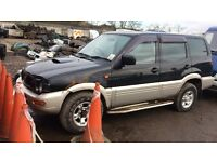 Nissan terano jeep diesel auto spare parts available