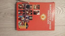 Manchester united official photo album