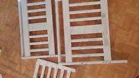 Lit de transition.