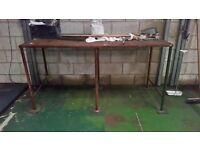 fantastic steel working bench for workshops/factories