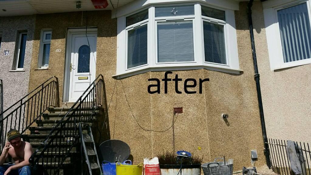 Plastering/plasterer and roughcasting