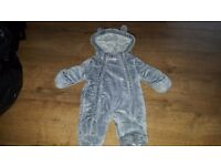 First size snowsuit like new