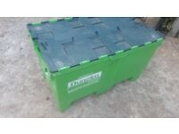 BOX - LARGE HEAVY DUTY STORAGE PLASTIC REMOVAL BOX