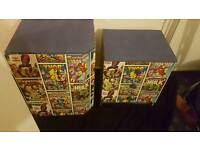 Marvel toybox and drawers