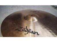 "Zildjian ZXT 18"" medium thin crash cymbal"