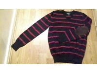 used red and blue polo ralph lauren in a very good condition for 14 years old .