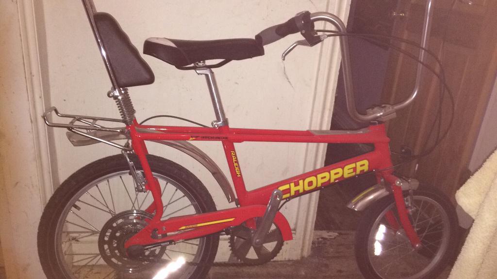 Raleigh chopper mark 3 red
