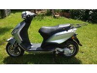 Piaggio Fly 100. 2009. Silver. Low mileage offers over £200