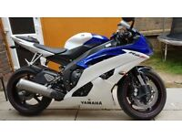 Yamaha R6 2013 low millege
