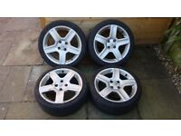 "Peugeot Challenger 17"" Alloy Wheels and Tyres"