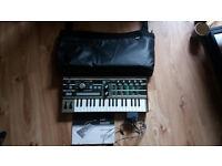 Microkorg Original with Korg bag adapter and manaul