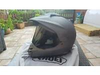 Shoei hornet supermoto motorcycle helmet