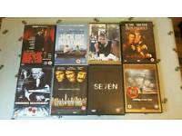 8 film DVDs Classics