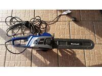 EINHELL ELECTRIC CHAIN SAW . F 10