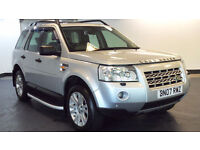 2007 07 LAND ROVER FREELANDER 2.2 TD4 HSE 5D 159 BHP DIESEL *2 YEARS WARRANTY*FINANCE AVAILABL