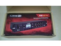LINE 6 HD PRO MULTI EFFECTS PROCESSOR