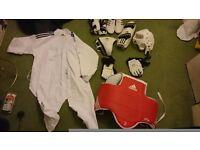 Adidas wtf taekwondo gear