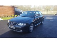 Audi S3 8L 2001 Quattro 1.8t Black Unmolested Original 97k