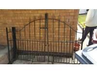 Pair of Wrought Iron Gates
