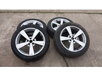 alloy wheels and excellent tyres