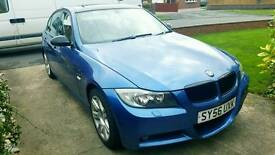 Bmw 320d on a 56 plate 107k on the clock comes with 12 months mot . Well looked after car