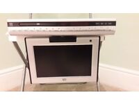 TV/DVD PLAYER FOR SALE - NEW - 10 inch - under kitchen cupboard TV - £70