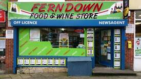 Off licence for sale