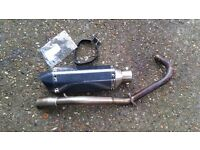 Honda MSX125 Grom Low Level Complete Exhaust System 13-15
