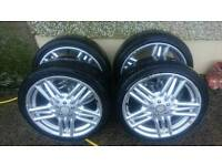 17 momo alloys +tyres