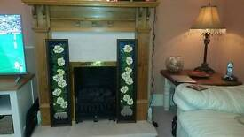 2 Fire surrounds