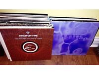 Awesome collection of Drum & Bass / Jungle vinyl - photek/ed rush/ronis size/metalheadz/dillinja