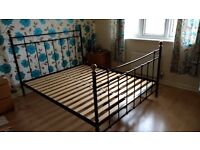 Ikea King Size Bed (frame only - no mattress)