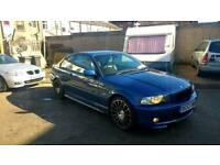 Bmw 330 ci M sport topaz blue automatic E46 E36 new alloys leds mot 8/2/18 px taken