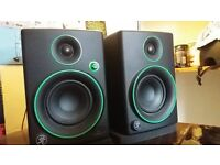 Mackies CR3 Studio Monitors Speakers