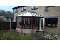 UPVC Conservatory Brown and White GREAT CONDITION Buyer Dismantles