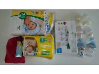 Baby bottles, nappies, etc. Price reduced 4th Dec