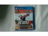 Ps4 game Tony Hawks pro skate 5