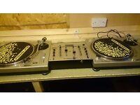 gemini turntables, Stanton mixer, 240 Drum n Bass Vinyl. £350 ono