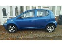 Toyota Yaris 2003 5 dr Petrol Colour Collection Unrecorded Damage