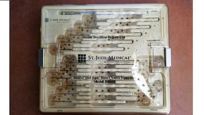 New Sjm St. Jude Medical Biocor And Epic Heart Valve Sizer Set B1000
