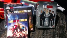 Big Bang Theory Seasons 1-8