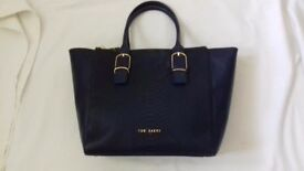 Ted Baker Dark Blue Large Hand Bag New
