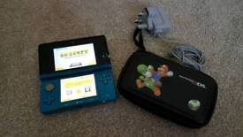 Nintendo 3DS. Blue. Fully working with case and charger.