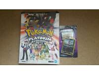 Pokemon Guide and trading cards bundpe