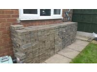 450 used paving blocks