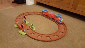 Happland toy train and track
