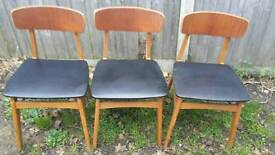 Chairs - Dining chairs - Vintage furniture - Delivery available