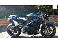 Triumph speed triple 1050cc